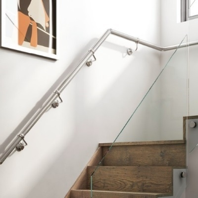 Choosing Stair Handrail Designs For Your Staircase Top Tips | Wall Handrails For Stairs | Timber | Recessed | White | Contemporary | Antique