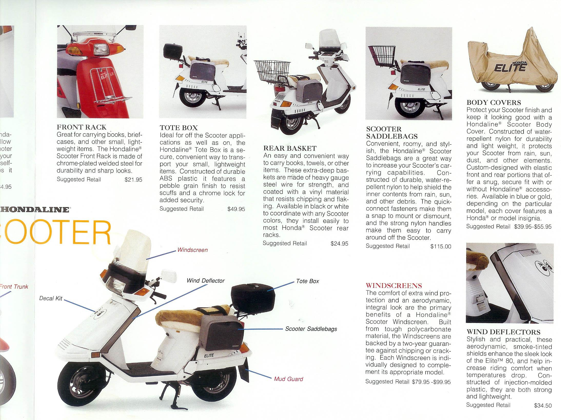 Honda Scooter Elite 150 1985