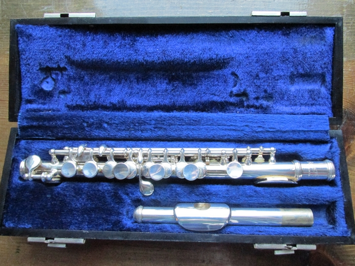 Head Bundy Silver Flutes