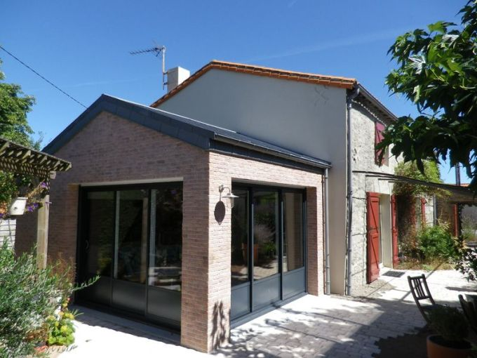 Extension maison   Jacques Fonteny Extension maison   Saint Hilaire de Loulay   85 Vend    e