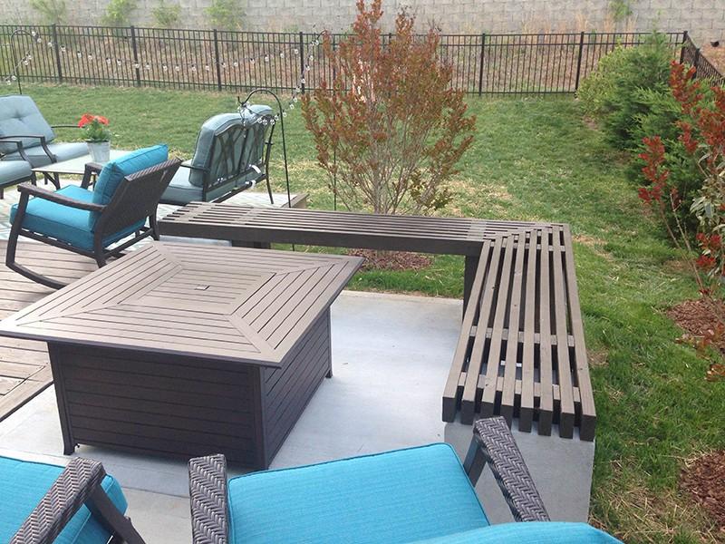 Charlotte Nc Concrete Patio And Deck Expansion Project