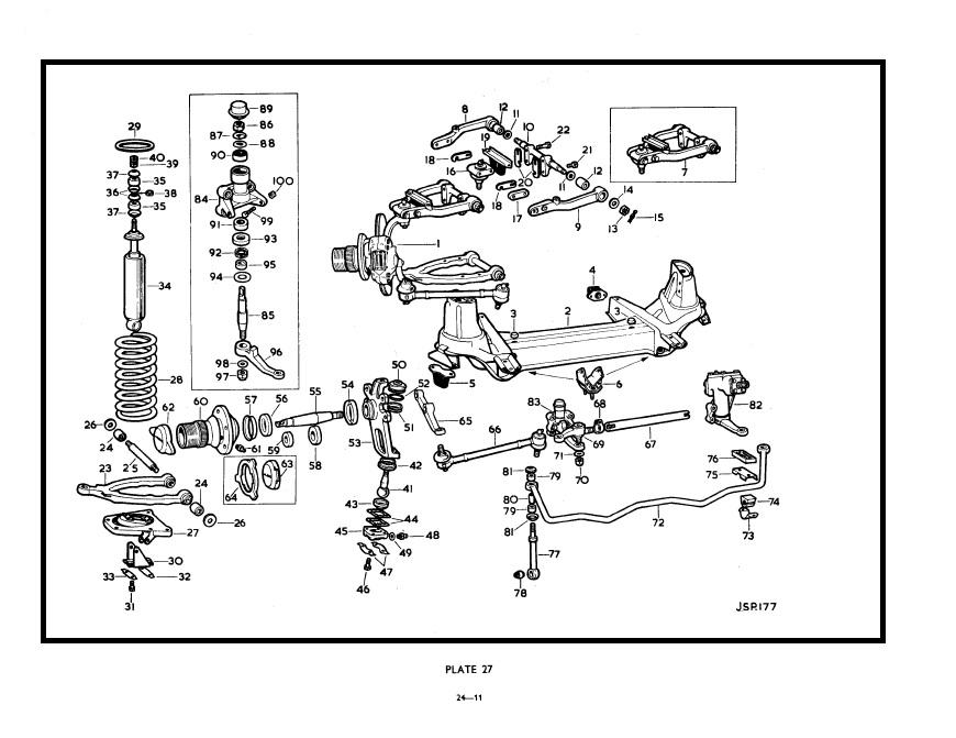 2011 Ford Escape Rear Suspension Diagram