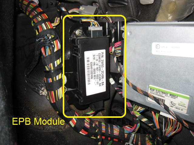 Electronic Park Brake Epb Emergency Release How To