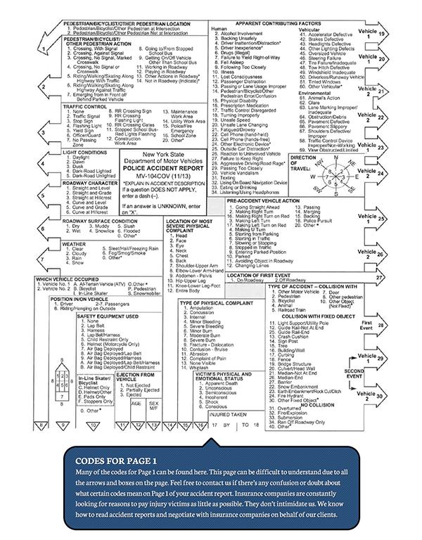 Accident Report Diagram