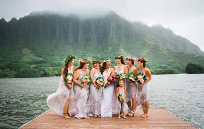 Kau'i & John | Kualoa Ranch, Oahu - Hawaii Wedding ...