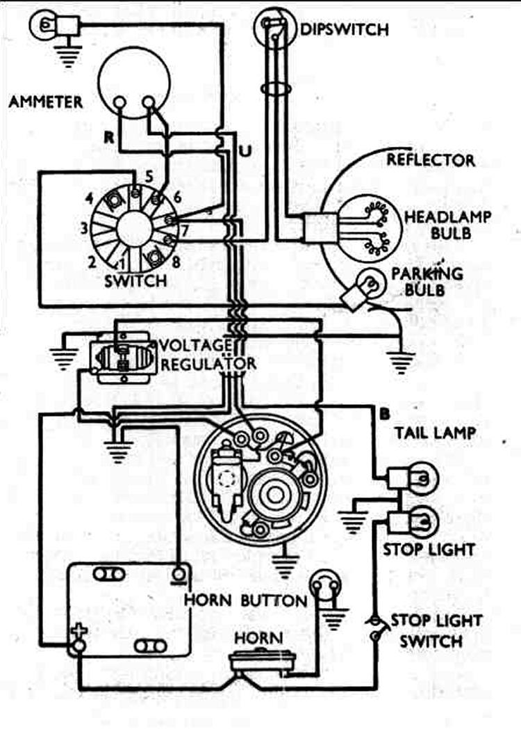 Massey Ferguson 6 12 Volt Conversion Wiring Diagram For