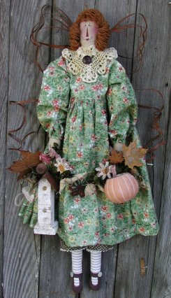 Primitive Country Doll Patterns Janie S Angel Babies