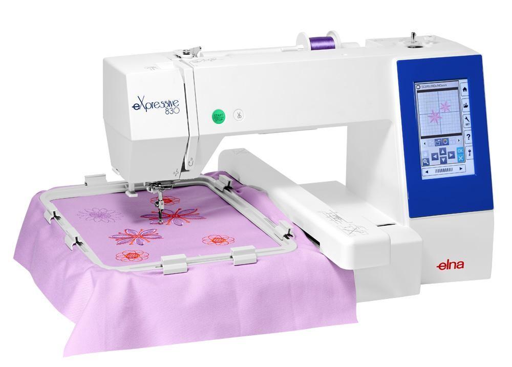 Needle Machine Chart Embroidery Size