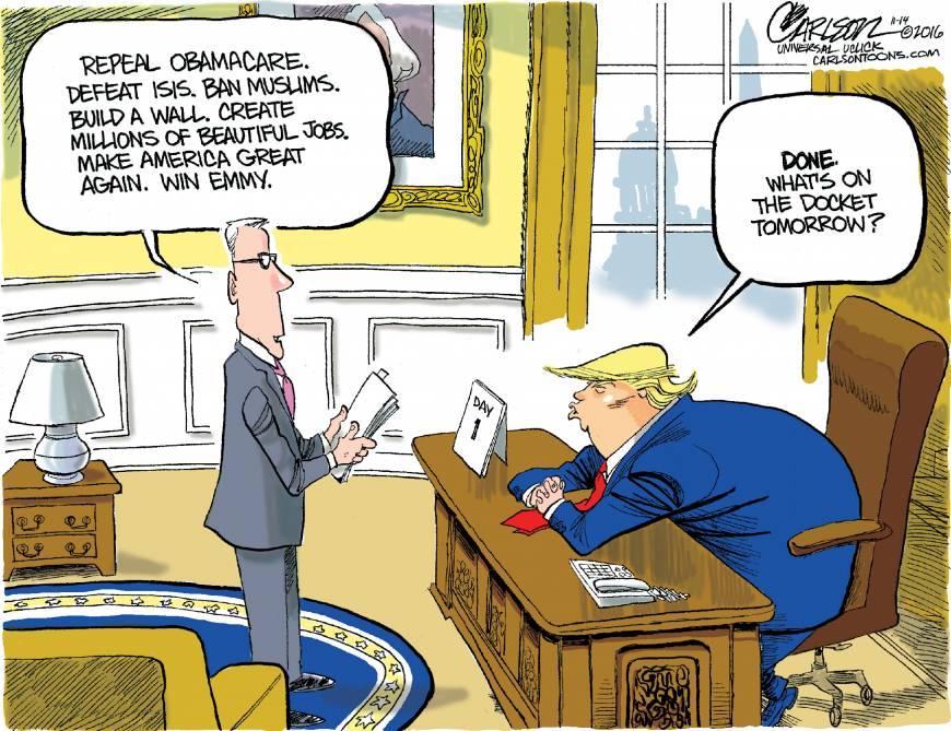 Checks And Balances Cartoon