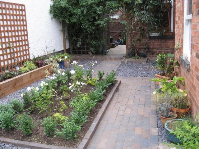A Shady Courtyard Jardin Design