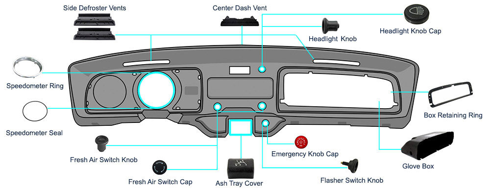 Car Diagram With Parts Labeled