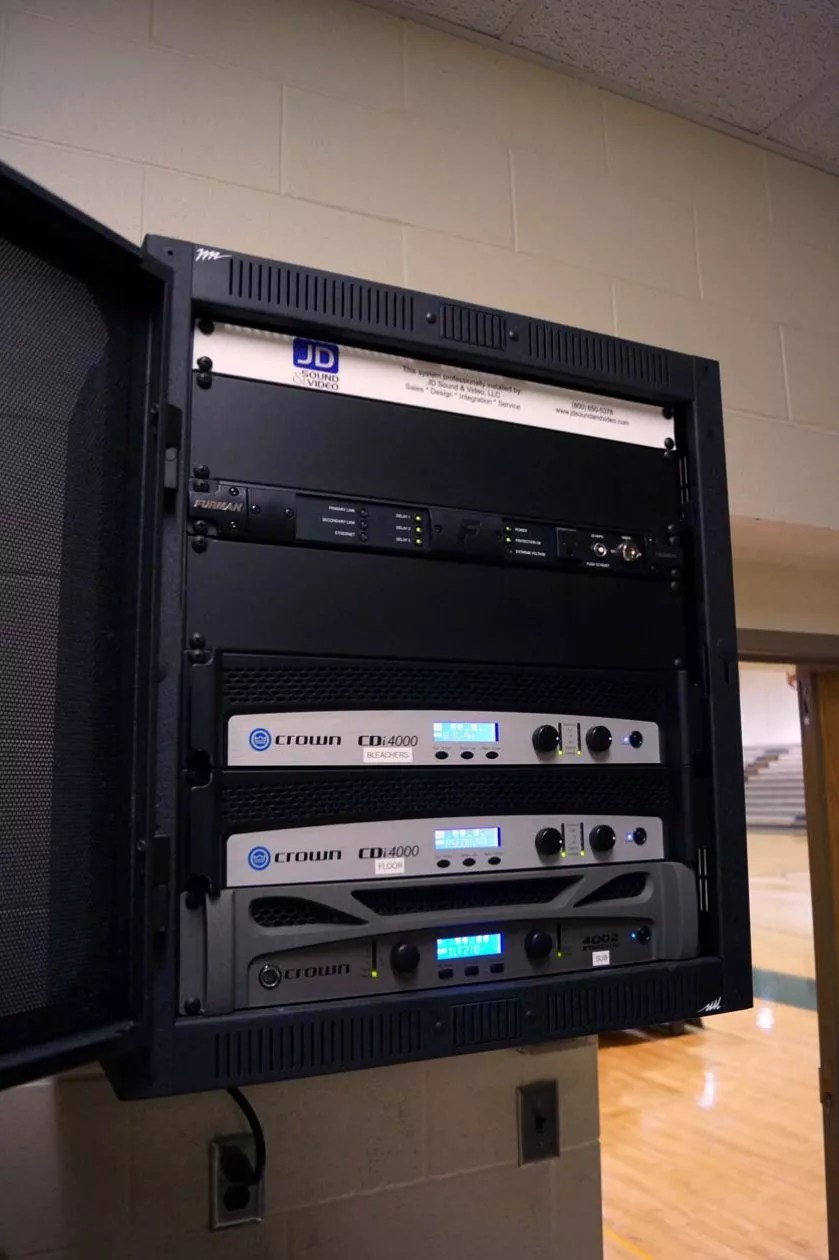 Clearview High School Gym Sound System Jd Sound Amp Video