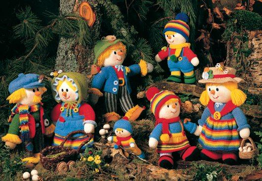 Jean Greenhowe Designs Scarecrow Family