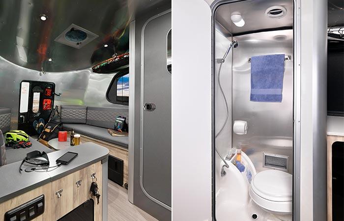 Interior Airstream Basecamp