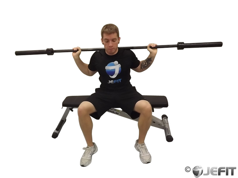 Barbell Seated Good Mornings - Exercise Database | Jefit ...