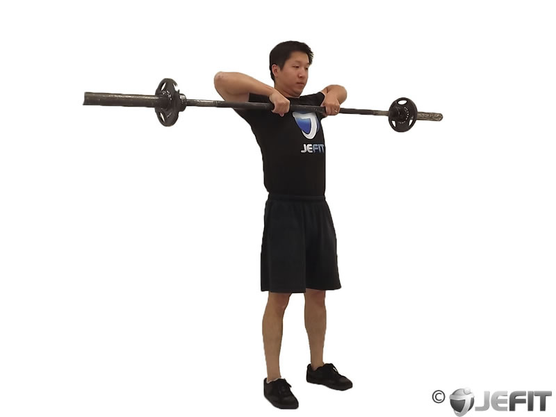 Barbell Up Right Row - Exercise Database | Jefit - Best ...