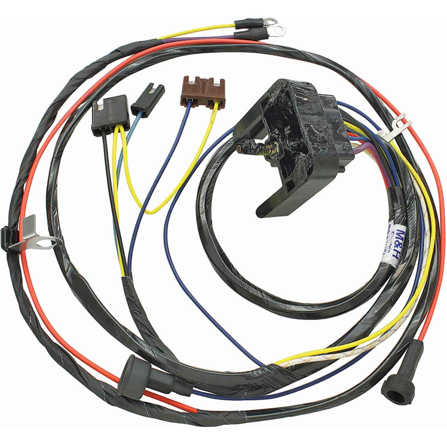 Restoparts 12070 wiring harness engine 1968 69 chevelle el camino rh jegs