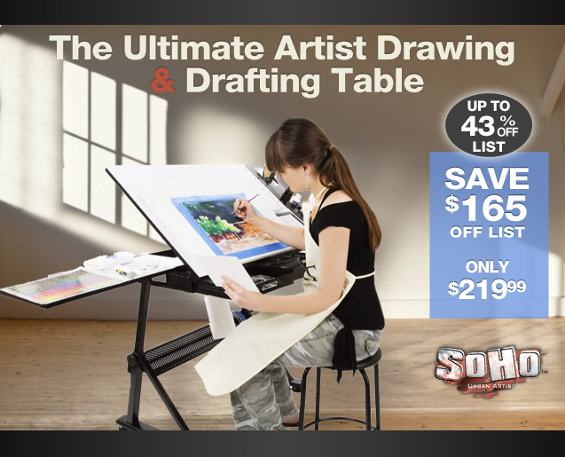 Artist Canvas Table Easels