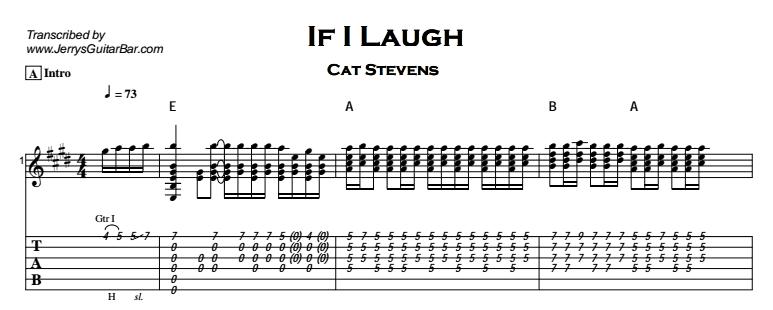 Laugh Laugh Guitar Lesson