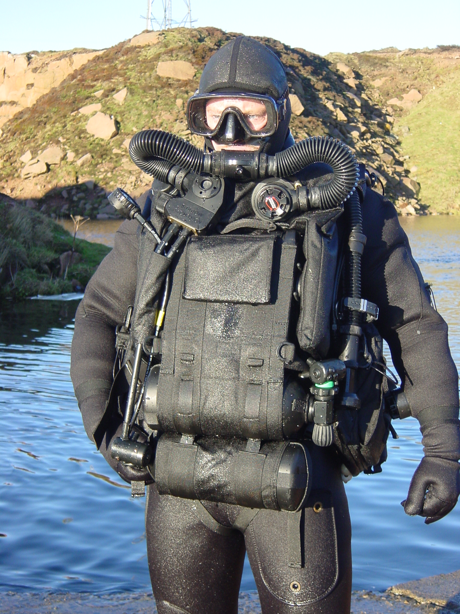 Jfd Shadow Shadow Excursion Rebreather