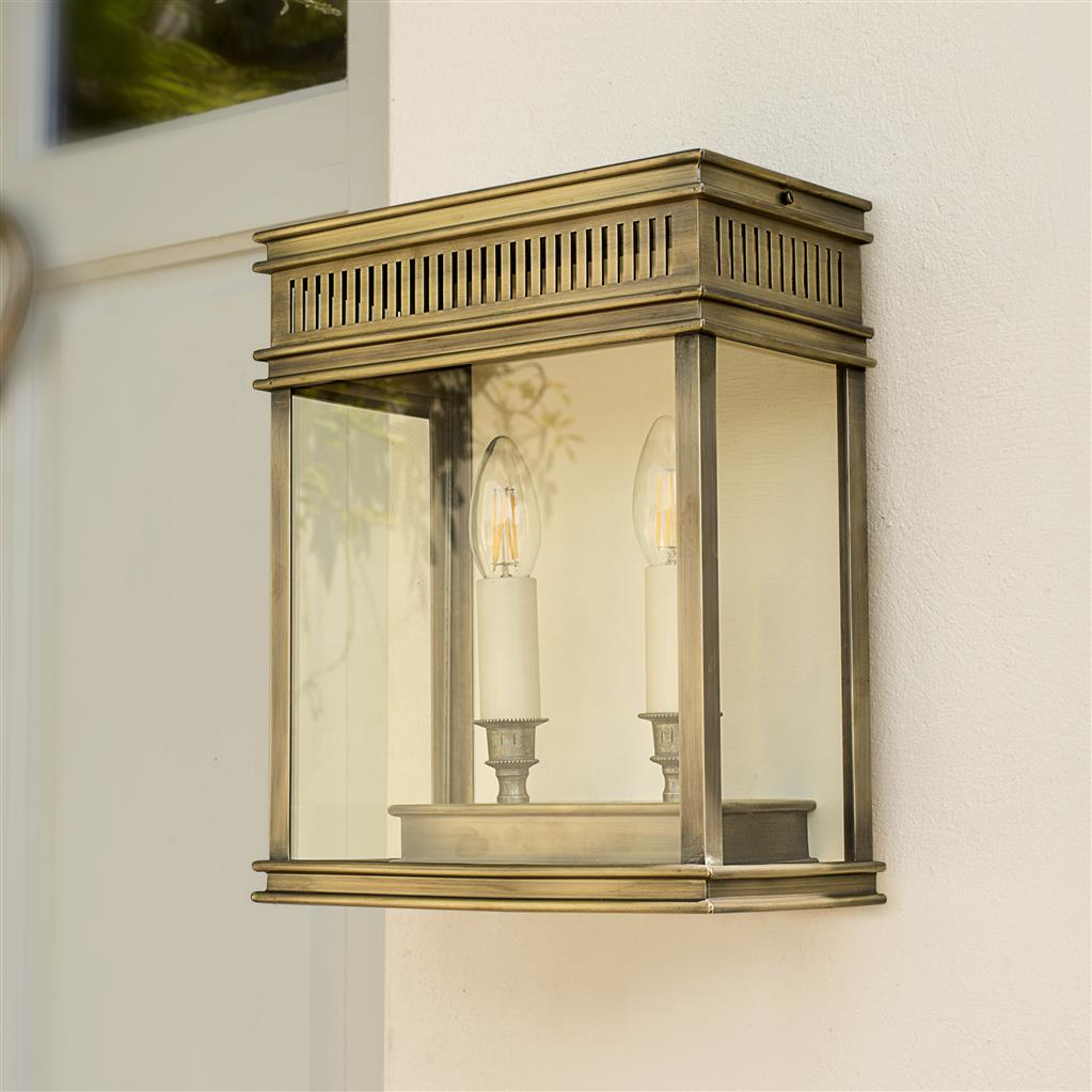 Rectangular Outdoor Wall Lantern