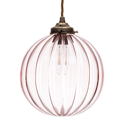 pendant lighting pink # 52