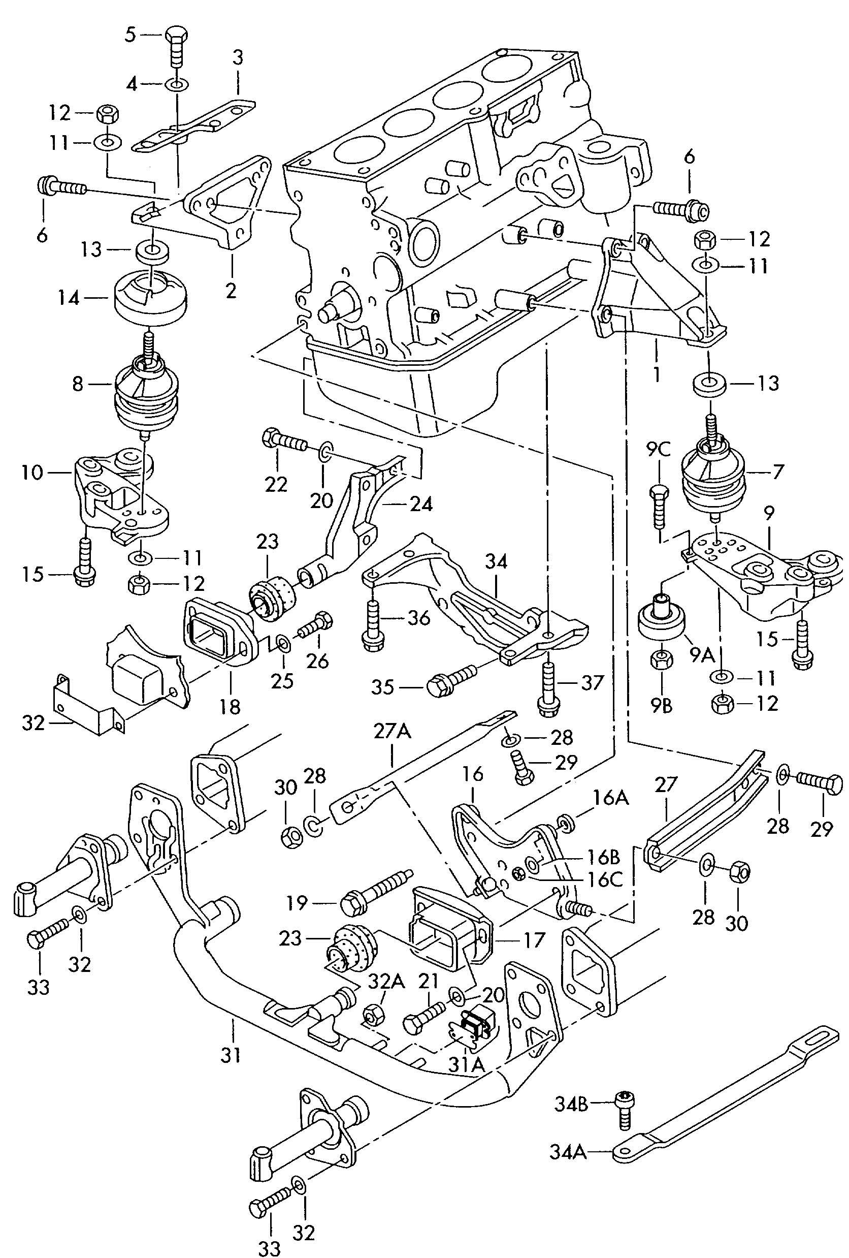 Showassembly on volkswagen eos parts diagram