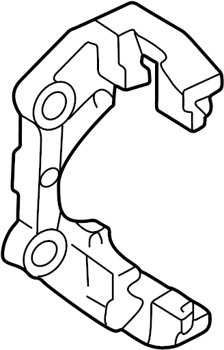 Caliper carrier with pad retaining pin brake caliper