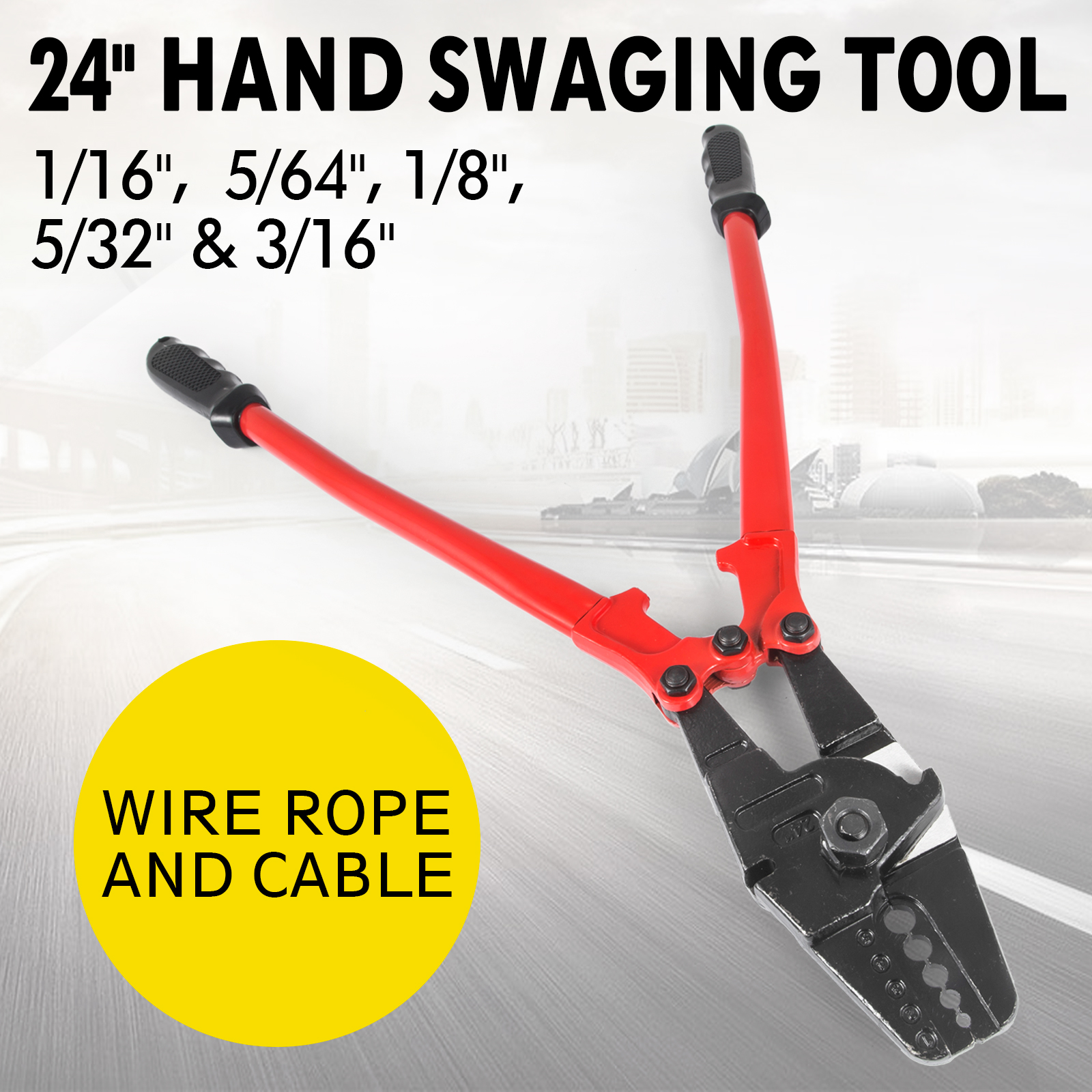 Tool Wire Swaging Rope 1 32