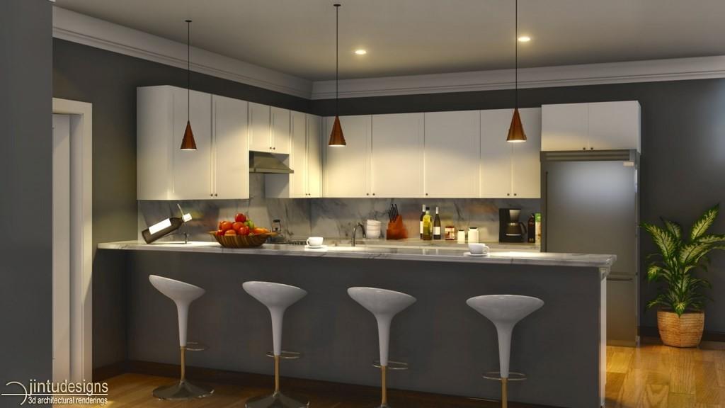 Kitchen Room Design 3d