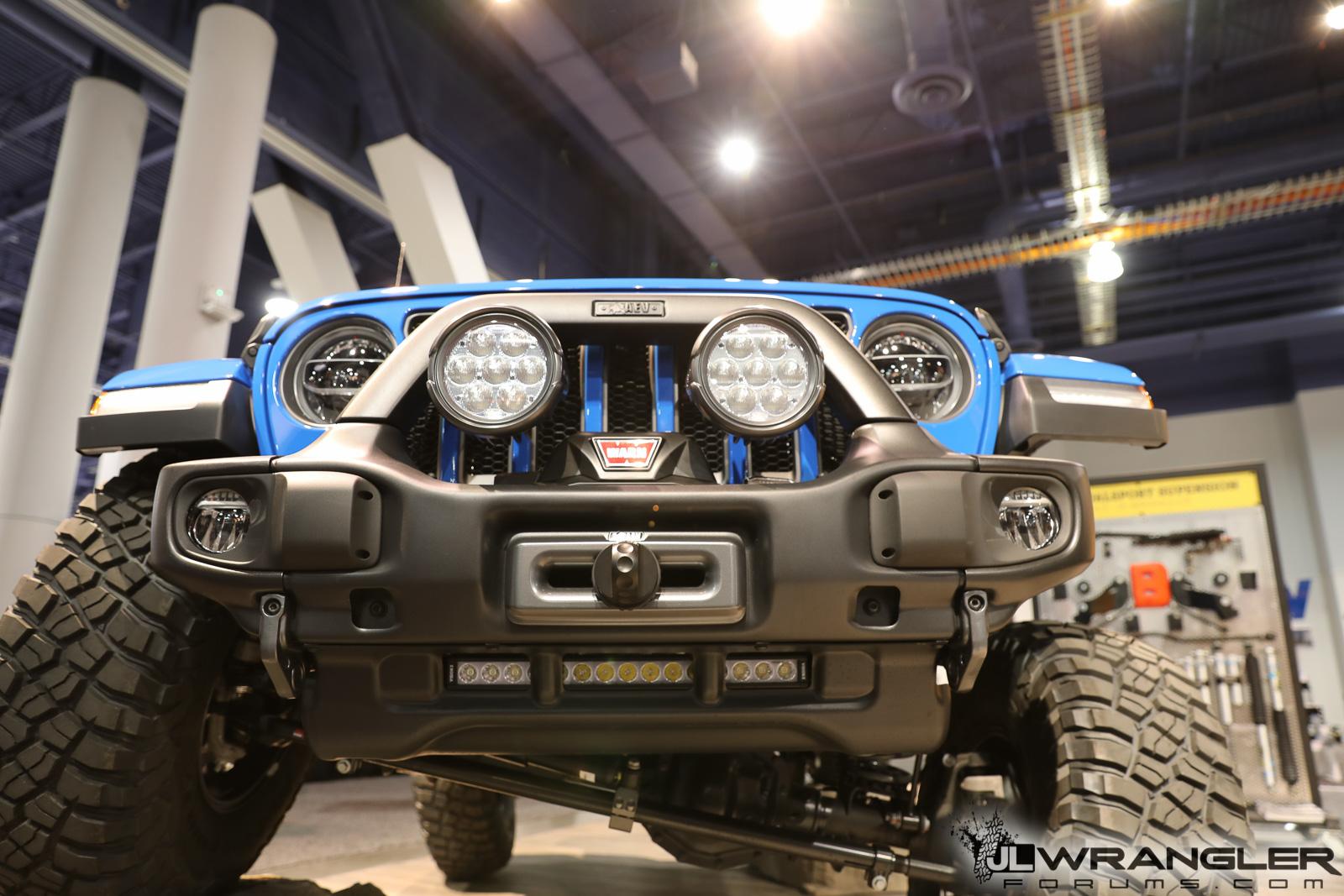 Jeep Wrangler Lights