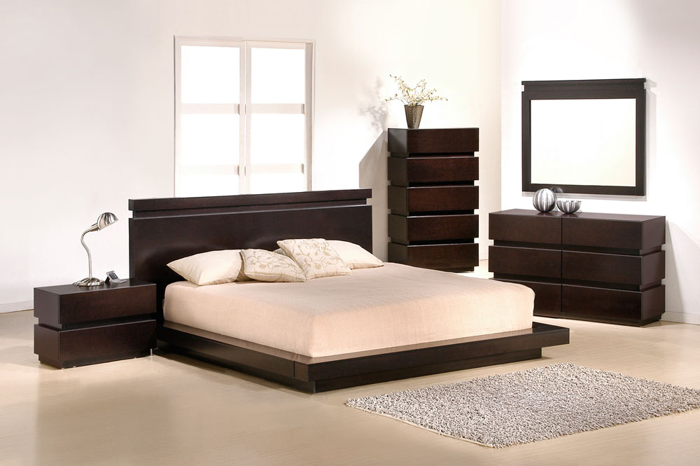 J M Furniture Modern Furniture Wholesale   Modern Bedroom Furniture         Knotch Bedroom Set