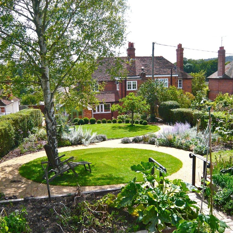 Raised Garden Terrace