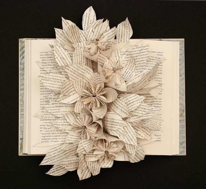 Altered Books Joan Wolbier Fine Art