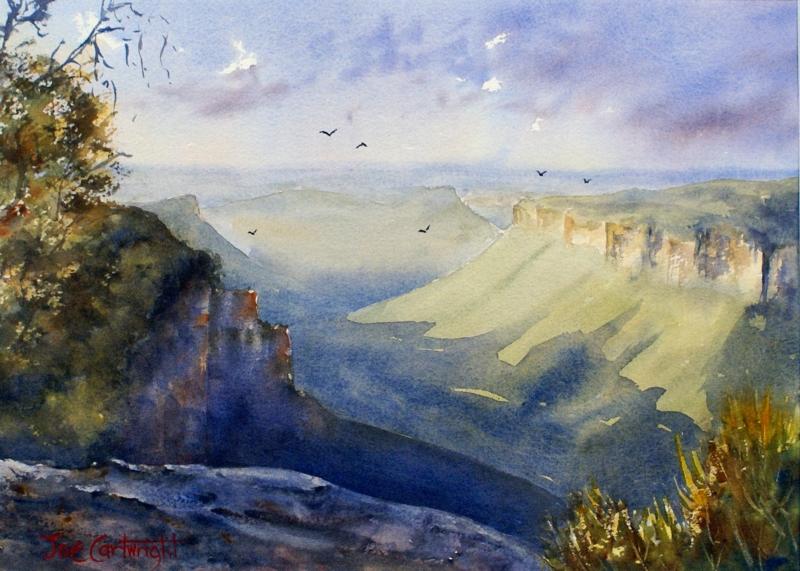 Watercolour Landscapes – Joe Cartwright watercolour artist