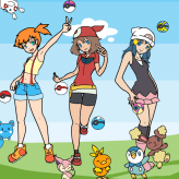 Pokemon Girl Dress Up
