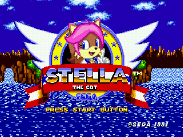 Stella the Cat (Sonic 1 Hack)