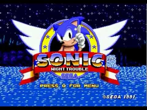 Sonic Night Trouble