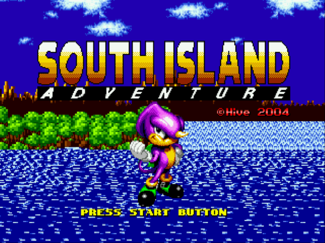South Island Adventure (Sonic 1 Hack)