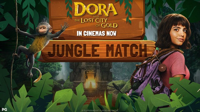 DORA GAMES : JUNGLE MATCH
