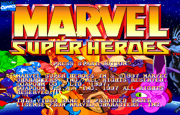Marvel Super Heroes ( SS )