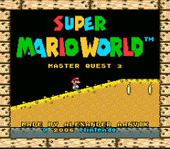 Super Mario World Master Quest 3