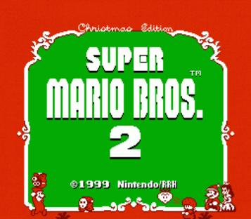 Super Mario Bros 2 – Christmas Edition (SMB2 Hack) [a1]