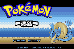 Pokemon Liquid Ocean