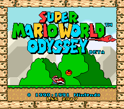 Super Mario World Odyssey Beta by lx5