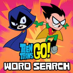Teen Titans Go! Word Search