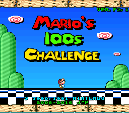 Super Mario World Hacks – Mario's 100s Challenge