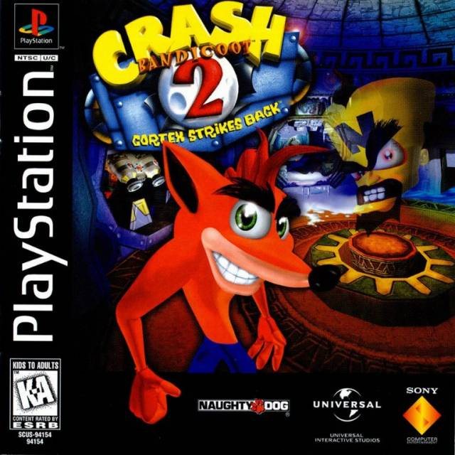 Crash Bandicoot 2: Cortex's Revenge – PS1
