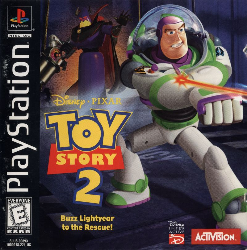 Toy Story 2 – Buzz Lightyear to the rescue – PS1