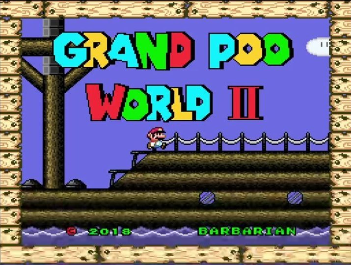 Grand Poo World 2 – Super Mario World